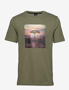 Troaar 5 - kortærmede t-shirts - open green