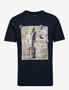 Troaar 4 - kortærmede t-shirts - dark blue