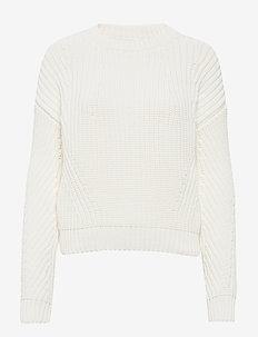 Waynetta - tröjor - open white