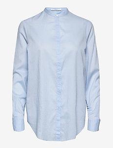 Efelize_17 - langærmede skjorter - light/pastel blue
