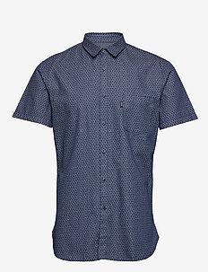 Magneton_1-short - kortærmede skjorter - dark blue