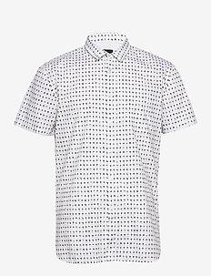 Magneton_1-short - kortærmede skjorter - white