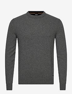 Kontreal - basisstrikkeplagg - medium grey
