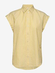 Emirta_1 - kortermede skjorter - bright yellow