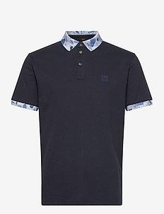Platinum - kortærmede - dark blue