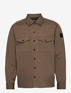 Lovel_4 - overshirts - beige/khaki