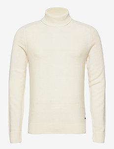 Aneberly - polokrage - light beige