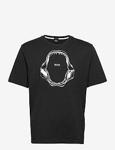 Tima 2 - kortärmade t-shirts - black