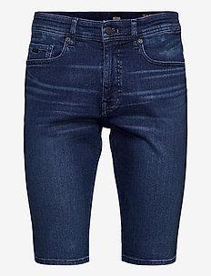Taber-Shorts BC-P - denim shorts - navy