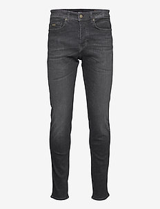Taber BC-P - tapered jeans - black