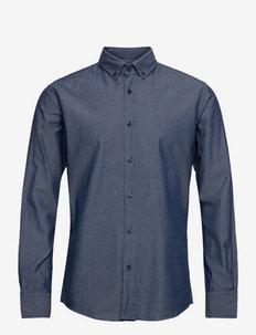 Mabsoot_1 - basic skjortor - dark blue