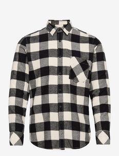 Riou - koszule w kratkę - open white