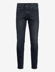 Taber BC-P-1 - tapered jeans - navy
