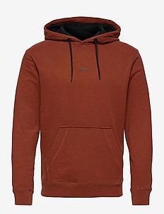 Weedo 2 - basic sweatshirts - rust/copper