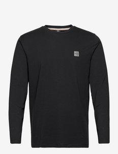 Tacks 1 - basic t-shirts - black