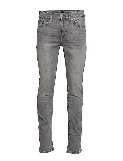HUGO BOSS Delaware Bc-L-P Slim Jeans Grau BOSS CASUAL