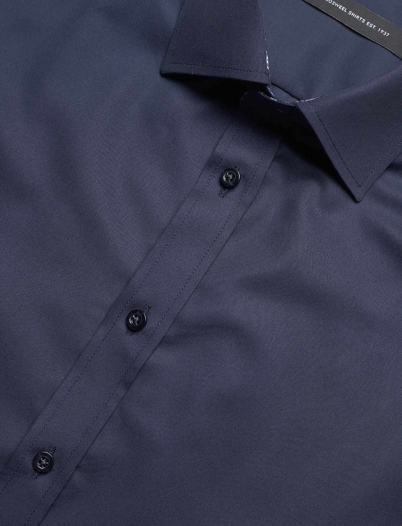 Bosweel Cotton twill with flower contrasts - Skjorter BLUE - Menn Klær