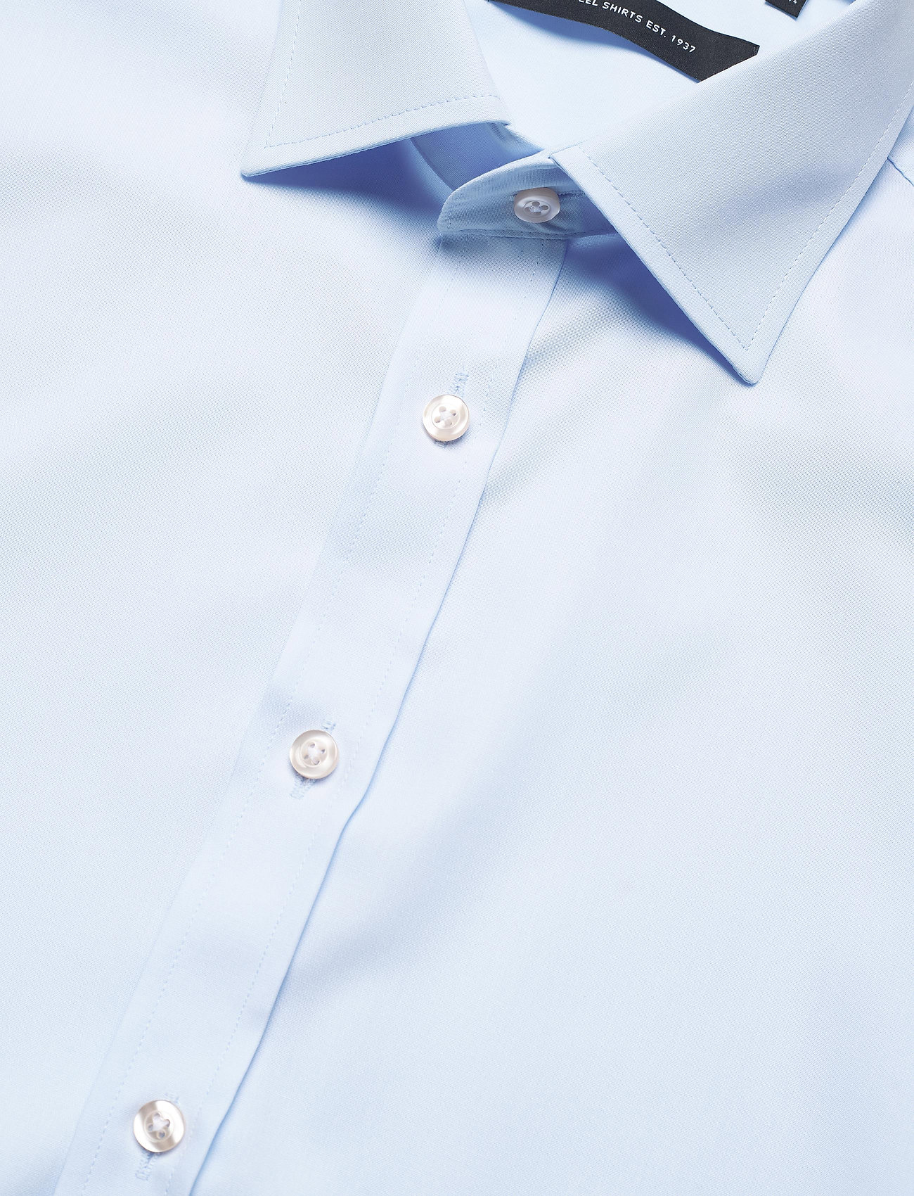 Bosweel Black poplin - Skjorter BLUE - Menn Klær