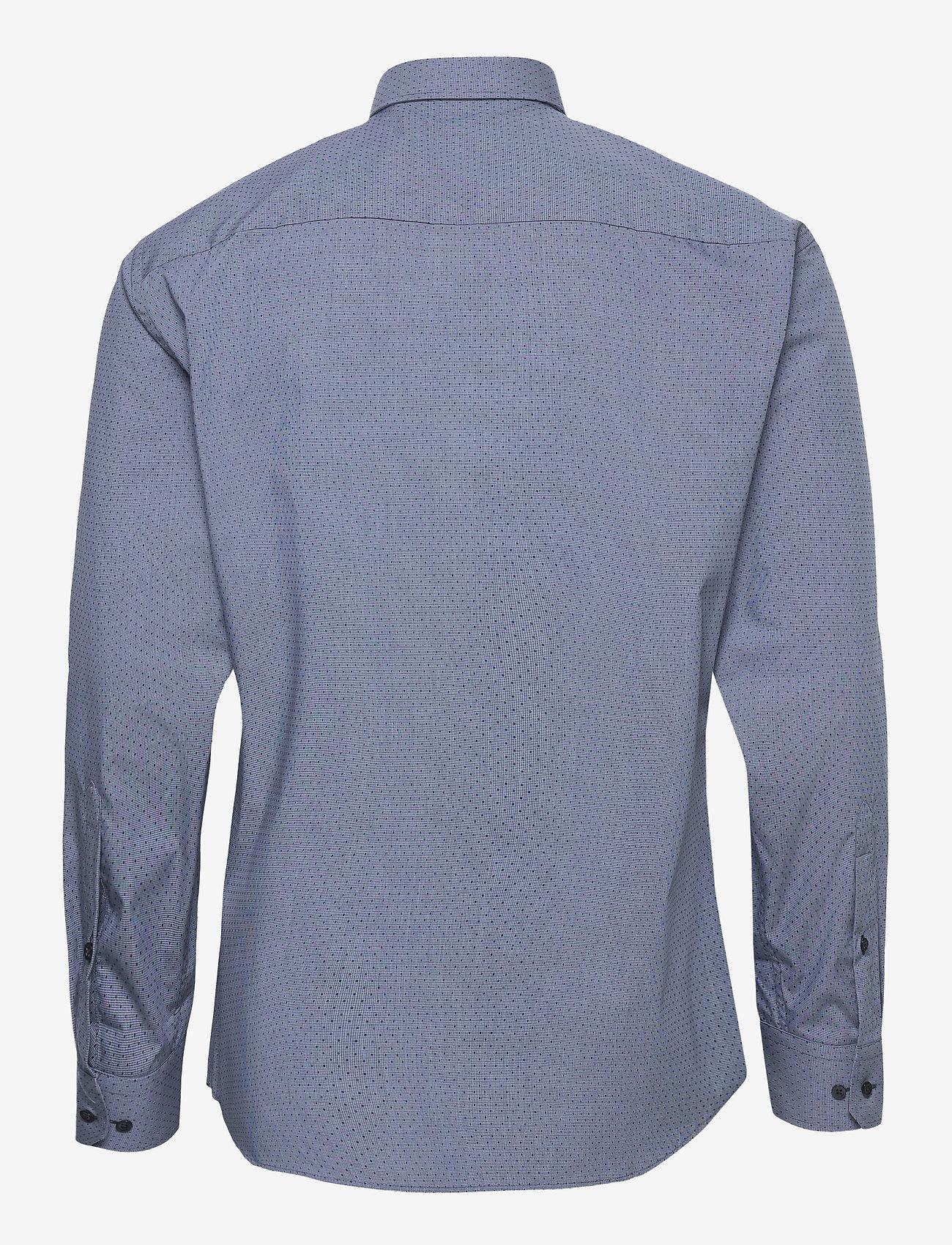 Bosweel Shirts Est. 1937 - Woven dots - chemises d'affaires - dark blue - 1