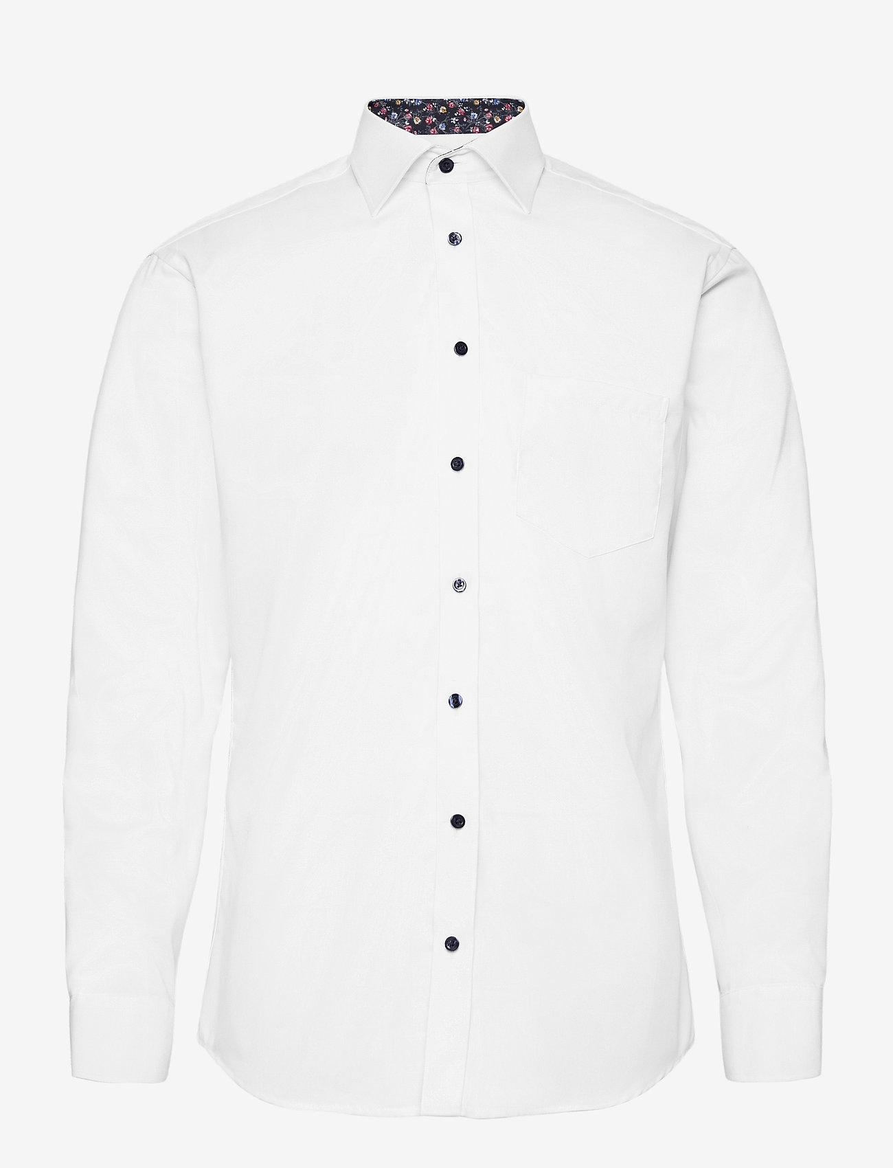 Bosweel Shirts Est. 1937 - White Structure with contrast - chemises d'affaires - white - 0