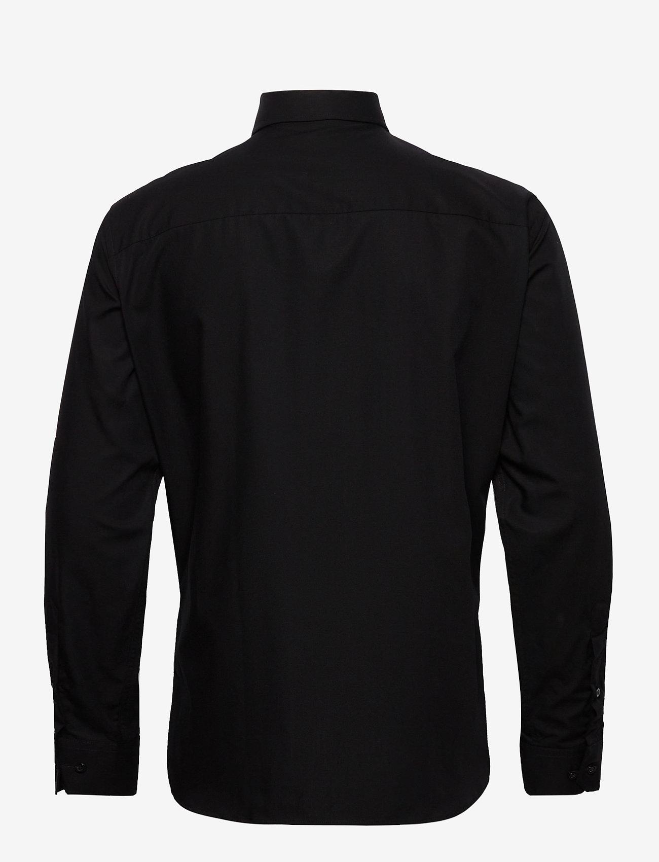Bosweel Black poplin - Skjorter BLACK - Menn Klær