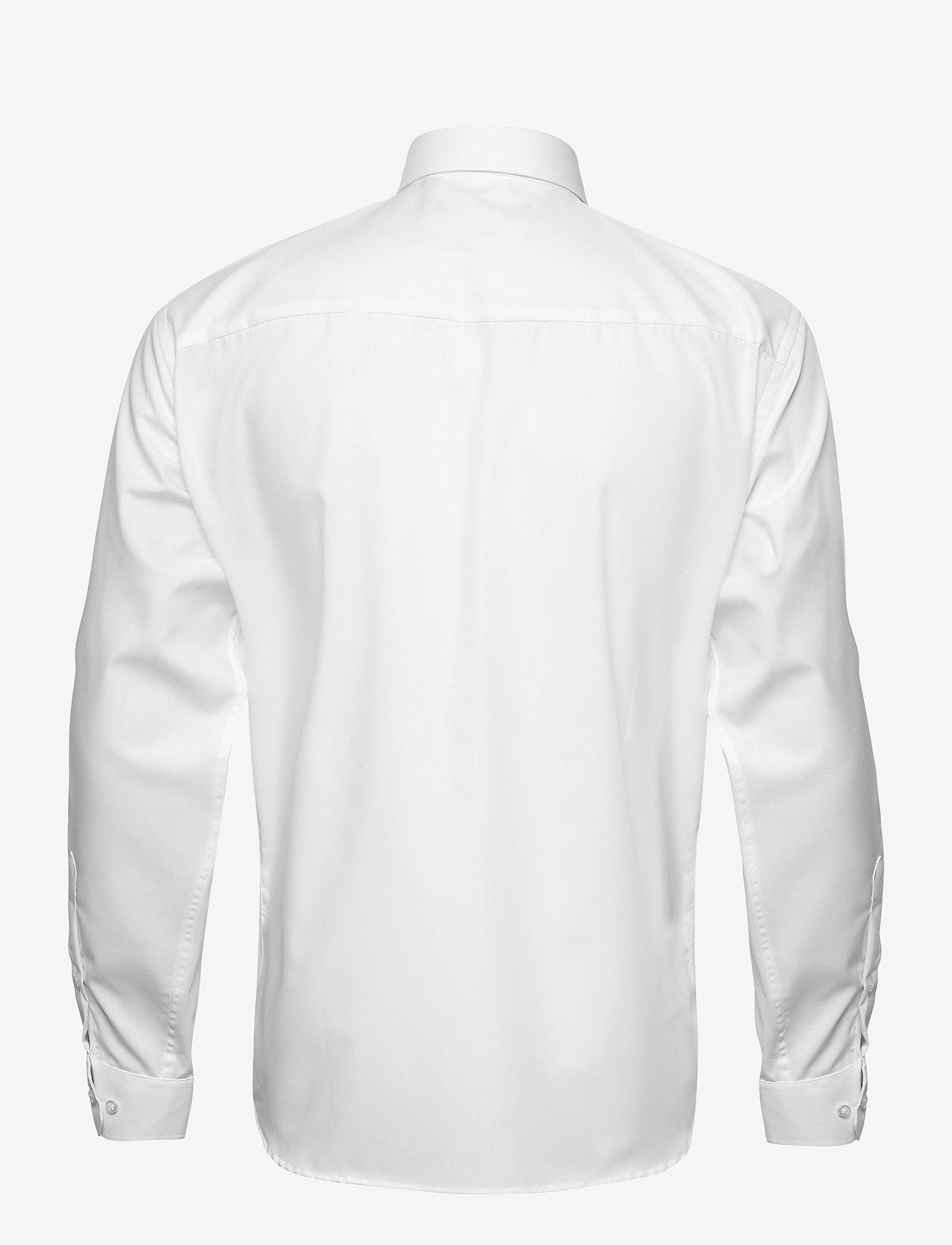 Bosweel Black poplin - Skjorter WHITE - Menn Klær