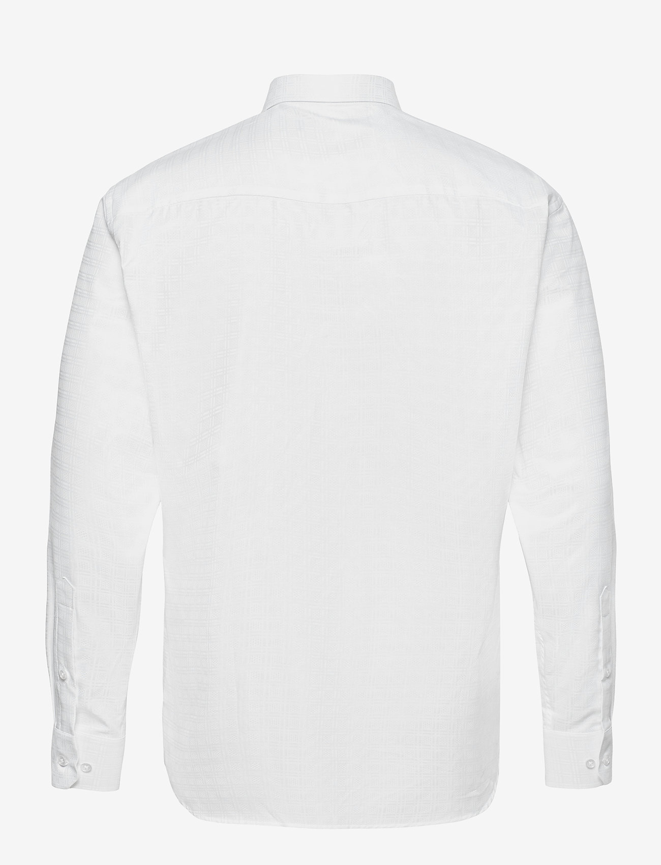 Bosweel Shirts Est. 1937 - 2PLY pattern in white - chemises basiques - white - 1