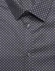 Bosweel Shirts Est. 1937 - Sand dots on navy blue - chemises d'affaires - dark blue - 2