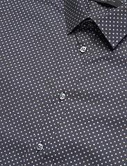 Bosweel Shirts Est. 1937 - Sand dots on navy blue - chemises d'affaires - dark blue - 3