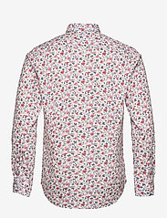 Bosweel Shirts Est. 1937 - Red flowers on white - chemises décontractées - red - 1