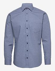 Bosweel Shirts Est. 1937 - Woven dots - chemises d'affaires - dark blue - 0