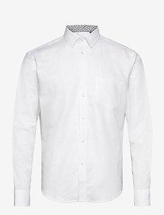 Short cut - basic skjorter - white