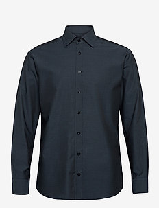 Grey pattern on grey - formele overhemden - grey