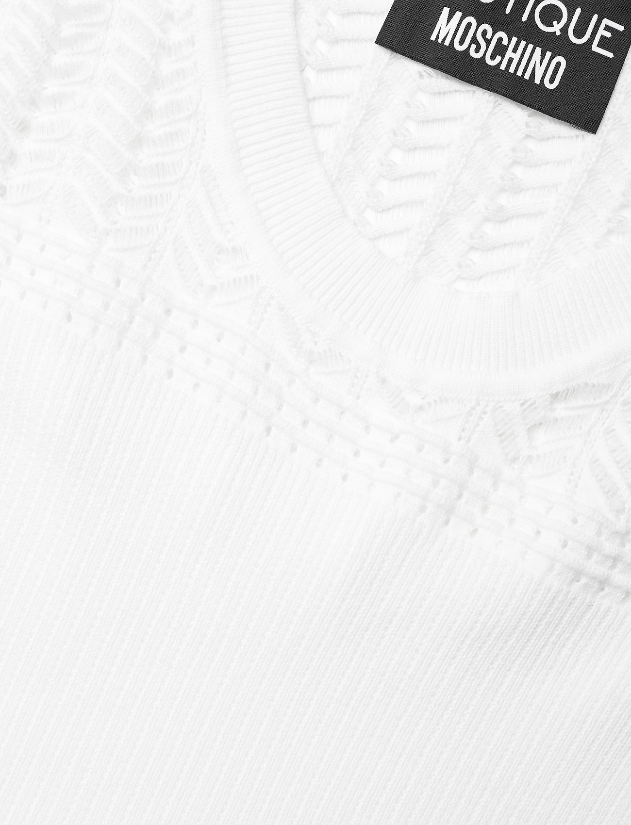 Boutique Moschino - Boutique Moschino LONG DRESS - sommerkjoler - white - 2
