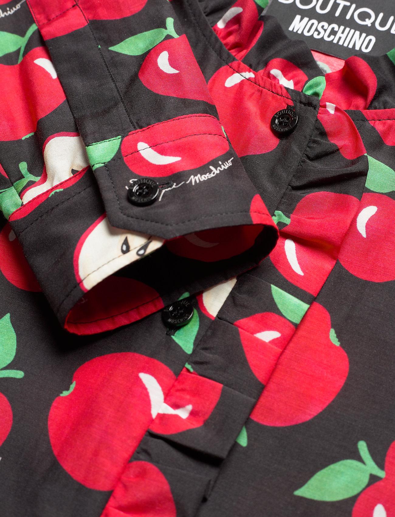 Boutique Moschino - APPLES BLOUSE - langærmede bluser - black fantasy print - 2