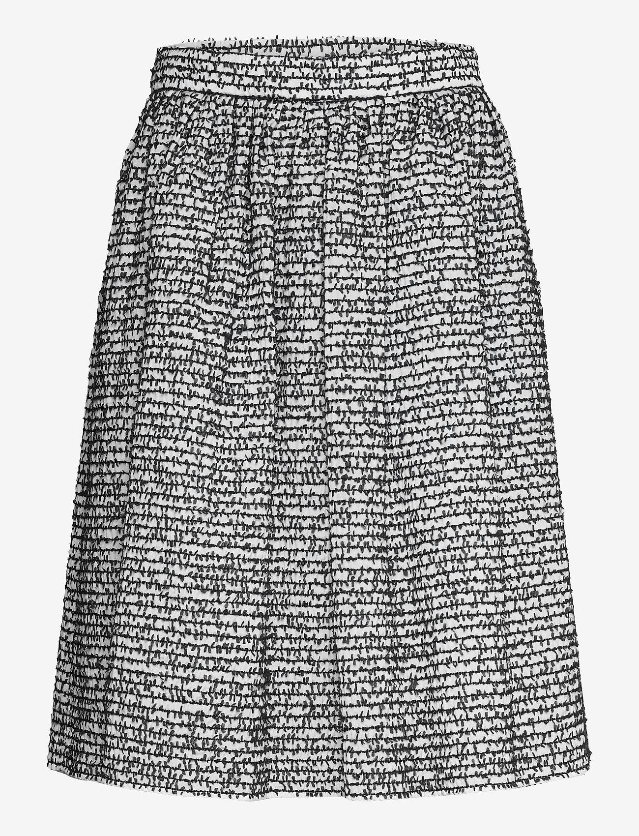 Boutique Moschino - Boutique Moschino SKIRT - træningsnederdele - black fantasy print - 0
