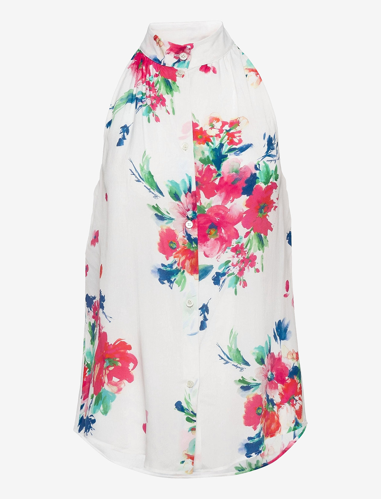 Boutique Moschino - Boutique Moschino BLOUSE - Ærmeløse bluser - white fantasy print - 0