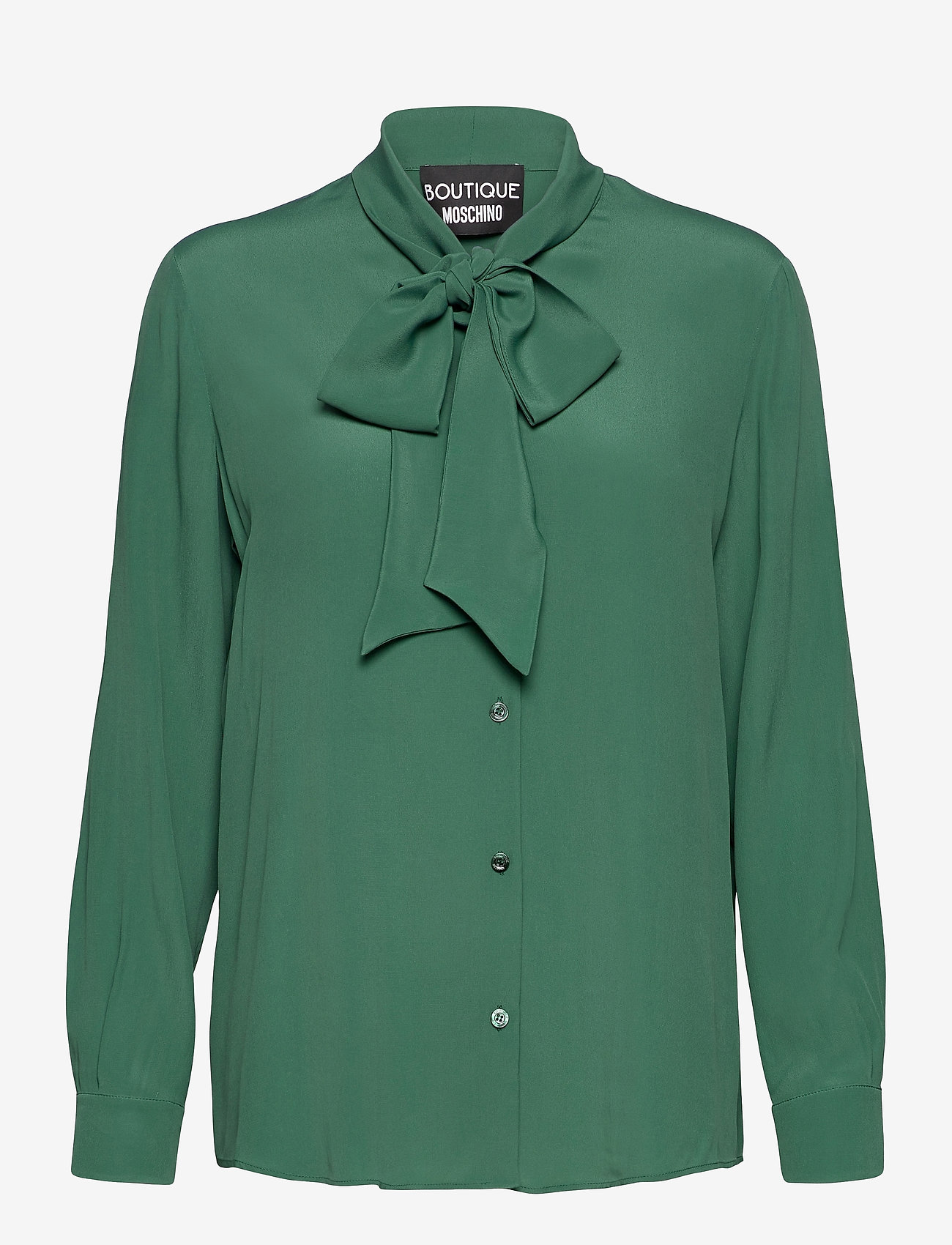 Boutique Moschino - Boutique Moschino BLOUSE - langærmede bluser - green - 0