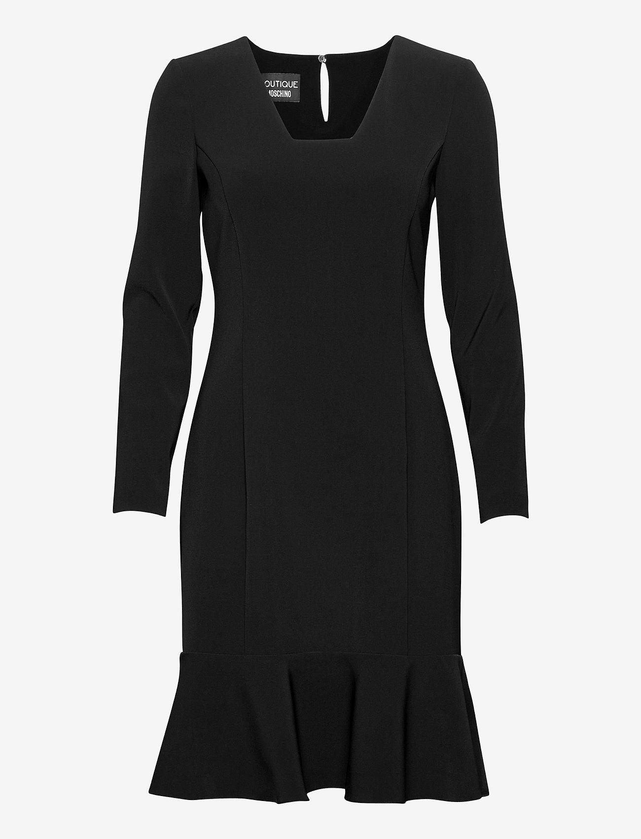 Boutique Moschino - Boutique Moschino DRESS - cocktailkjoler - black - 0