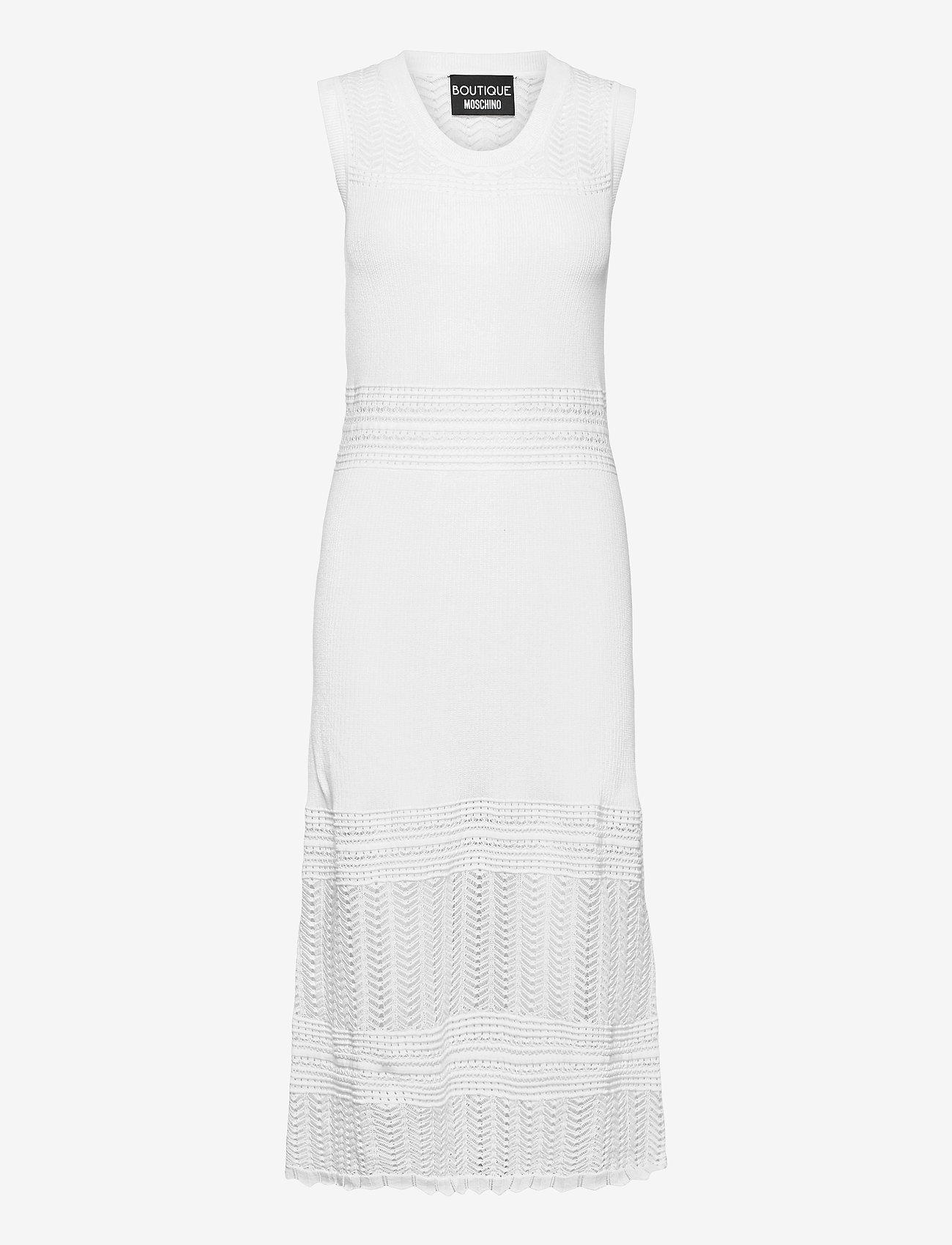 Boutique Moschino - Boutique Moschino LONG DRESS - sommerkjoler - white - 0