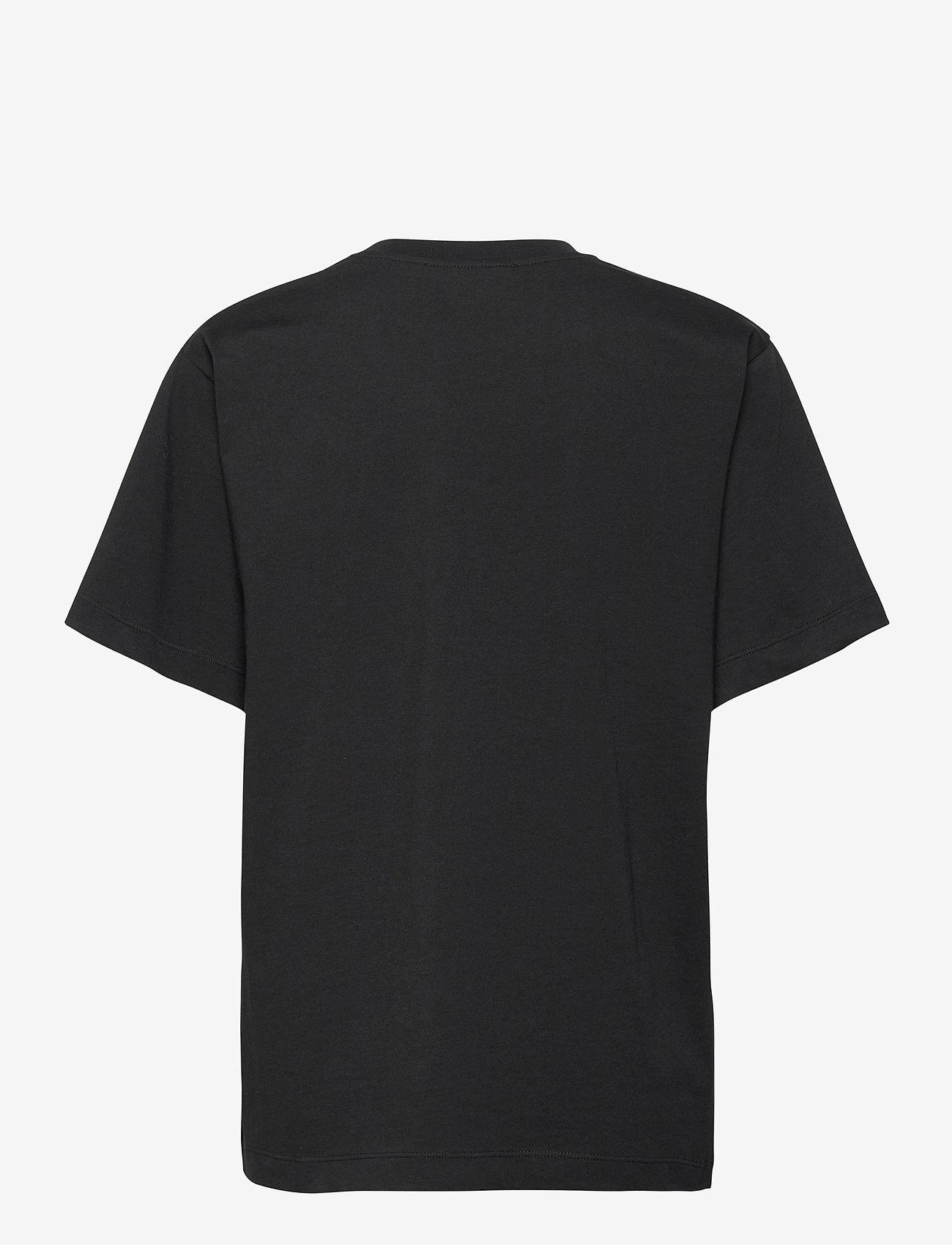 Boutique Moschino - BOTANIC T-SHIRT - t-shirts - black fantasy print - 1