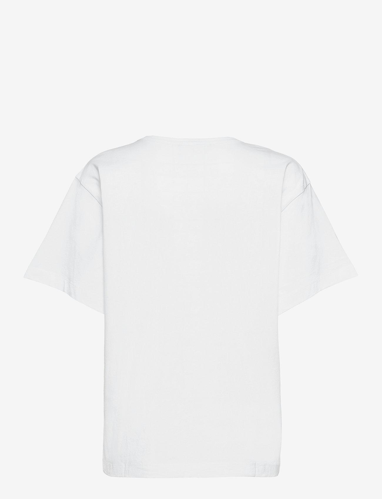 Boutique Moschino - APPLES T-SHIRT - t-shirts - white fantasy print - 1