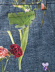 Boutique Moschino - BOTANIC SKIRT - korte nederdele - blue fantasy print - 2