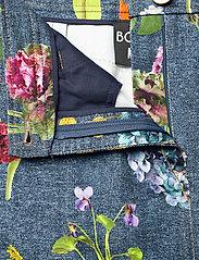 Boutique Moschino - BOTANIC SKIRT - korte nederdele - blue fantasy print - 3