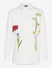 Boutique Moschino - BOTANIC BLOUSE - langærmede bluser - white fantasy print - 0