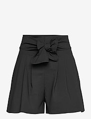 Boutique Moschino - Boutique Moschino SHORTS - paper bag shorts - black - 0