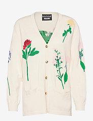 Boutique Moschino - BOTANIC JACKET - cardigans - white fantasy print - 0