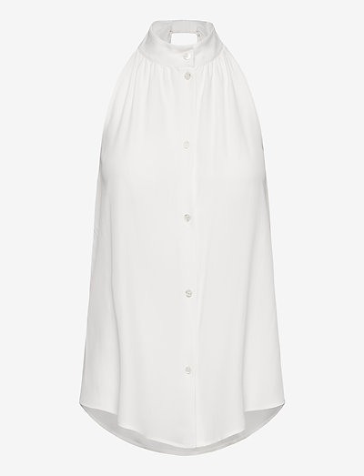 Boutique Moschino BLOUSE - Ærmeløse bluser - white