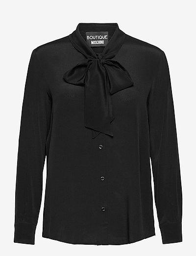 Boutique Moschino BLOUSE - langærmede bluser - black