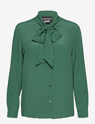 Boutique Moschino BLOUSE - langærmede bluser - green